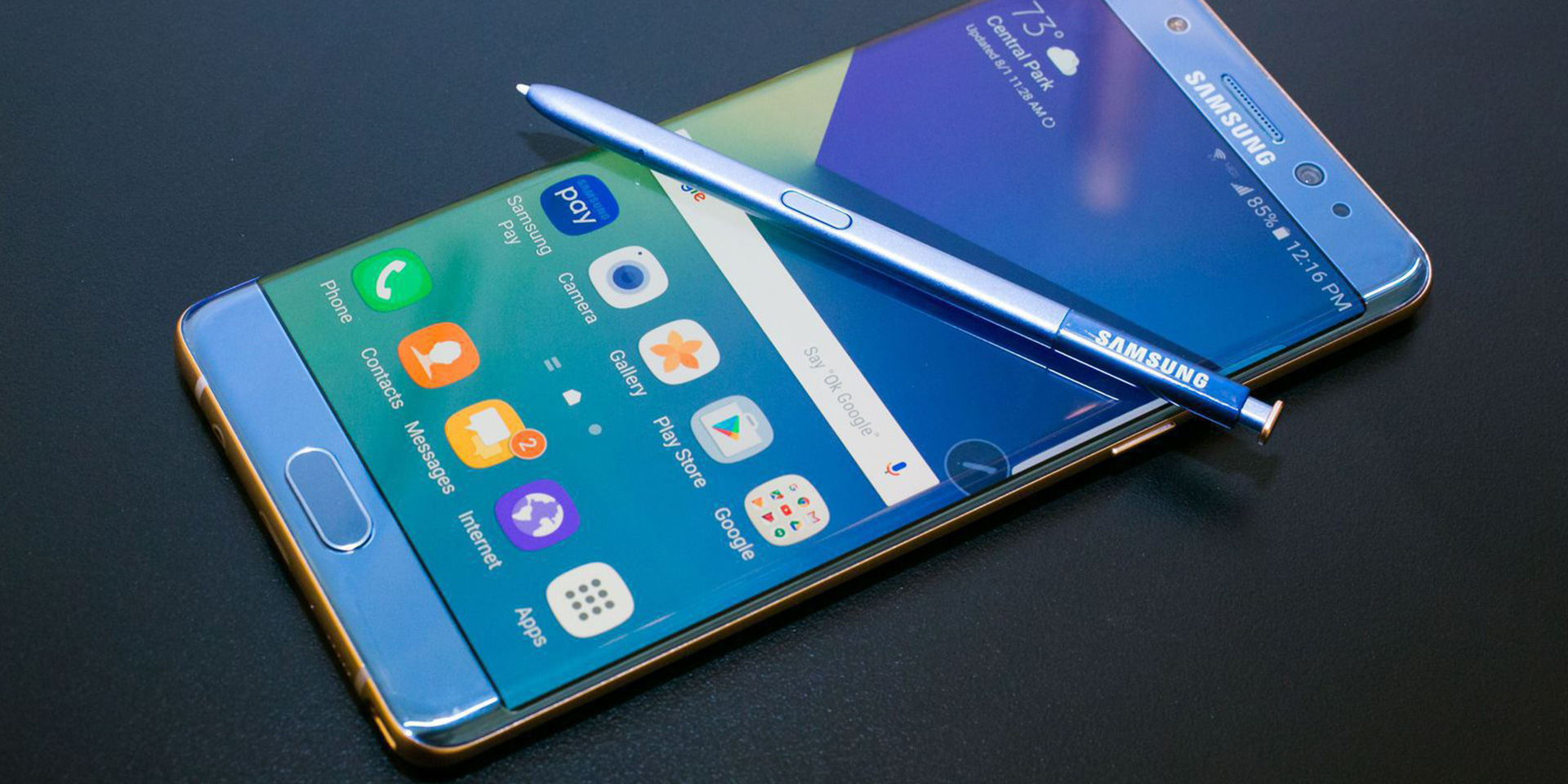 What happened to all those Samsung Galaxy Note 7s?