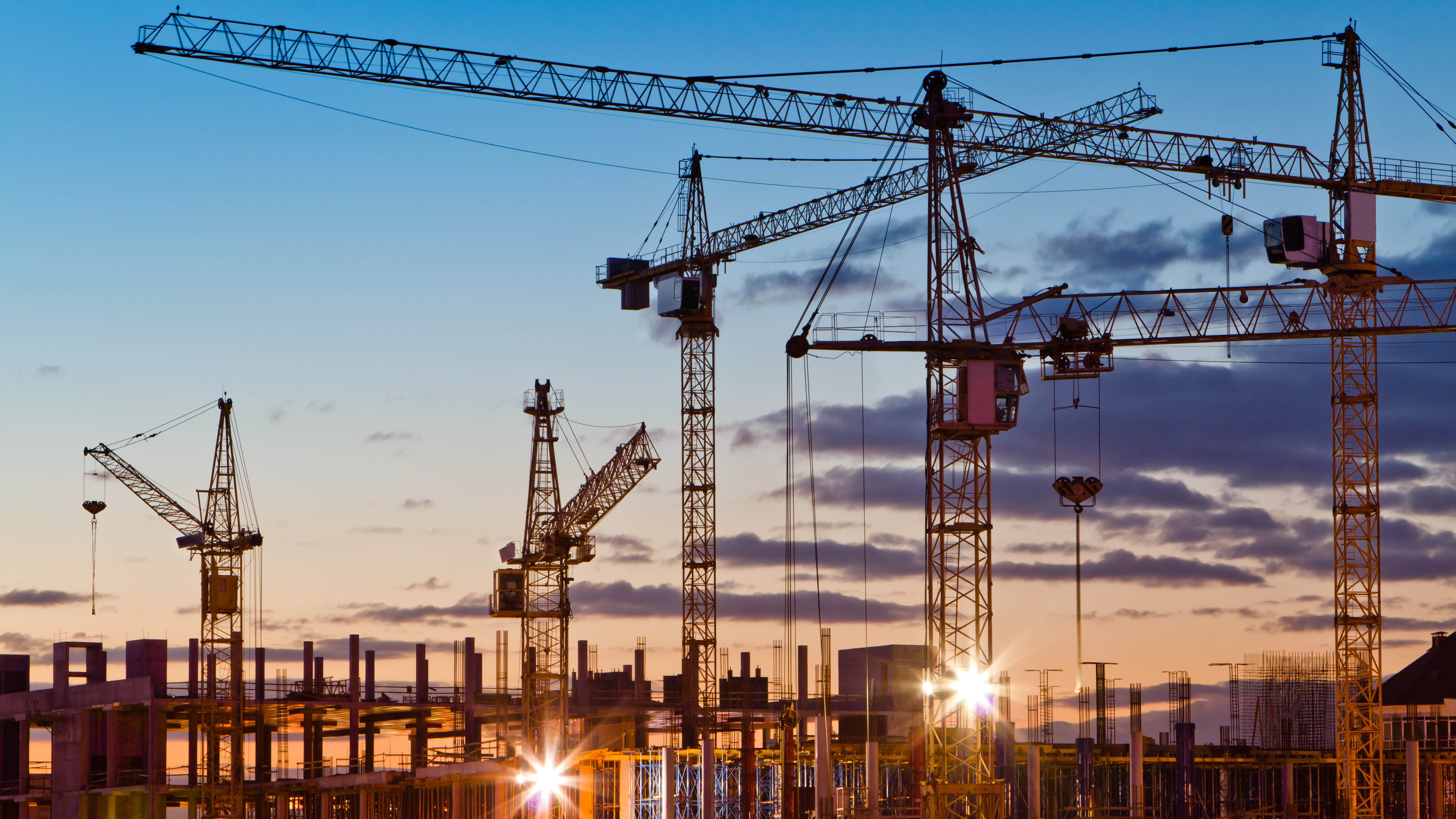 Is the construction industry on the rise or in decline?